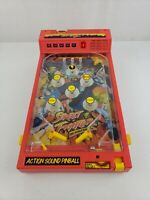 Vintage Original STREET FIGHTER Toy Small Pinball Machine 1993 by Kid Dimension