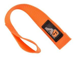 """Agency 6 Heavy Duty Hook / Winch Pull Strap - 1.5"""" Wide 7 colors to choose from!"""