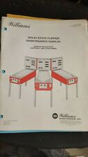 Williams Solid State Flipper Maintenance Manual