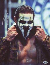 Tama Tonga Signed 11x14 Photo BAS COA New Japan Pro Wrestling Bullet Club NJPW 4