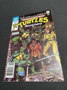 Teenage Mutant Ninja Turtles Adventures #1 Newsstand Great Copy!