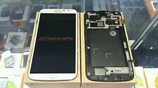 Samsung Galaxy Mega i527 m819n m819 White LCD Touch Display with Frame part