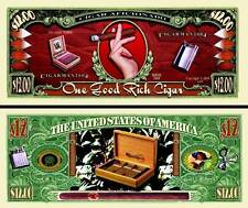 Les CIGARES - BILLET de Collection DOLLAR US! Illustrations Coupe Boite à Cigar