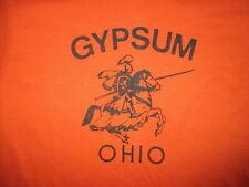 vtg 1980s GYPSUM OHIO T SHIRT SMALL Town Knight Renaissance Festival Horse SMALL