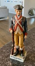 "Andrea by Sadek 9"" Revolutionary Soldier Figurine 2nd Maryland infantry 1777"