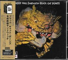 "BLACK CAT BONES - RARO CD JAPAN + OBI "" BARBED WIRE SANDWICH """