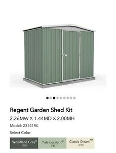 New Absco Garden Shed Woodland Grey