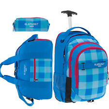 Trolley ELEPHANT HERO SIGNATURE Schulrucksack Schultrolley Trolly 12610 ROT R
