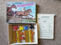 Vintage 1972 Waddingtons Target Games Steeple Chase Horse Race Boxed Game