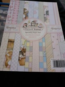 Hunkydory Return to Patchwork Forest~Speciality Paper Pad