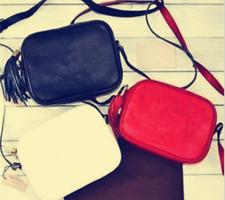 2018 New wallet super fashion Leather Handbag Crossbody Bag Black Shoulder Bag