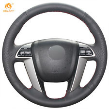 Genuine Leather Steering Wheel Cover for Honda Accord 8 Odyssey Pilot #BT19