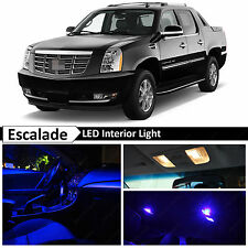 18x Blue Interior LED Light Package for 2007-2014 Cadillac Escalade EXT