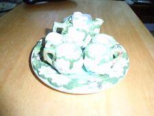 miniature cabbage tea service