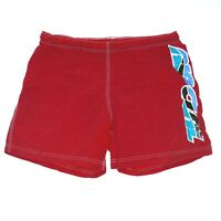 Rip Curl Vintage Mens Red Board Shorts One Size Surf Swim Made In Australia