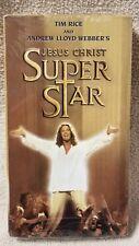 JESUS CHRIST SUPERSTAR Vhs Video Tape Andrew Lloyd Webber & Tim Rice Musical NEW