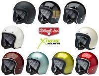 Biltwell Bonanza Helmet 3/4 Open Face Vintage DOT XS-2XL 2020 Color Line