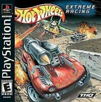 Hot Wheels Extreme Racing Playstation Game PS1 Used Complete