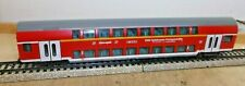 "Märklin H0 43590 Double Decker Car 2. Class "" Eurotrain "" Idee + Game "" Good"