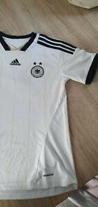 """Trikot """" Deutschland """" Damen*Gr.XS-30/32*Weiß*Sommer Fussball*Shirt Freizeit"""