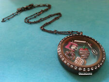 NEW ORIGAMI OWL Chocolate Lovers set: Smore, Chocolate Strawberry, Pink Mixer