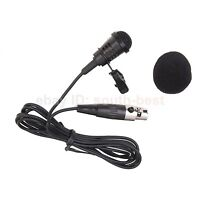 ME4 New Lavalier Microphone Lapel Clip MIC mike For AKG Samson Wireless