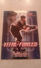 2002-03 UD Upper Deck MVP Vital Forces Mario Lemieux Card VF12 - 1700 + In Store
