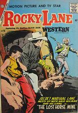 Rocky Lane #76 Charlton Comic Silver Age 1957 VG/FN Western