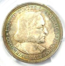 1893 Columbian Exposition Half Dollar 50C Rainbow - PCGS MS66 - Rare in MS66!