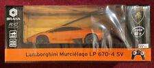 Braha Lamborghini Murcielago LP 670-4 SV RC Radio Control 1:24 light ** RARE **