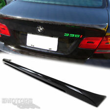 Carbon BMW E92 3-SERIES Coupe M Tech Style Rear Trunk Spoiler 325i 328i M3