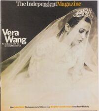 Vera Wang Wedding Designer Cover Irvine Welsh  Anna Pavord Independent Magazine