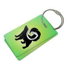 Skunk Suitcase Bag ID Luggage Tag Set
