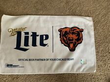 Miller Lite Beer Chicago Bears Nfl Football Towel