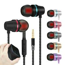 Super Bass In-Ear Kopfhörer Ohrhörer V1 Headset Earphone Headphone + Case Tasche