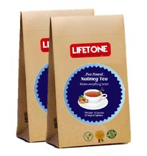 Nutmeg tea,Antidote for Insomnia,Detox,Delicious bed time tea,40 Teabags