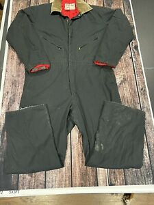 Vintage Walls Blizzard Pruf Insulated Winter Outdoors Work Coveralls Men XL Tall