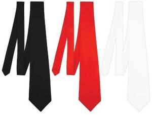 Adult Classic Satin Neck Tie Wedding Casual Neck Ties Fancy Dress Party Accessor