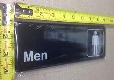New listing Men Restroom adhesive door wall Sign advertisement Information Symbol Label