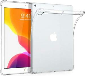 "Transparent TPU Back Case Slim Cover for Apple iPad 9/8/7 2021/2020/2019 10.2"""
