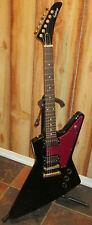 Epiphone 1958 Korina Explorer Black 6 String Electric Guitar Made in Korea