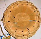1988 Longaberger Apple Basket Signed