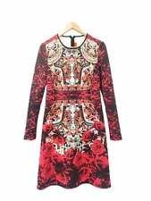 Regular Size Floral Knee-Length Dresses for Women