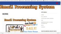 EMAIL PROCESSING, WEBSITES FOR SALE, EARN $25 PAYMENTS ALL DAY LONG, 24/7!!