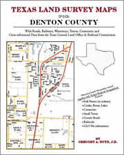 Denton County Texas Land Survey Maps Genealogy History