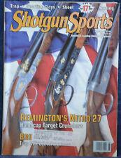 Vintage Magazine SHOTGUN SPORTS August 1995 !!! REMINGTON NITRO 27 TRAP LOAD !!!