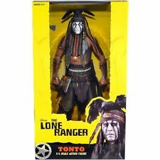 "NECA THE LONE RANGER TONTO 18"" 50 CM NEW IN BOX FIGURA DE ACCIÓN"