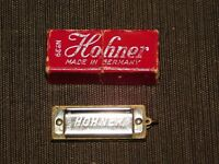 "VINTAGE MUSIC HOHNER HARMONICA MINI 1 1/2""  LITTLE LADY NO. 39 IN BOX"