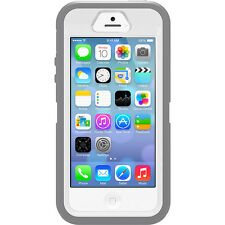 OtterBox Defender Trade Heavy Duty Case Cover Grey White Apple iPhone SE 5s 5