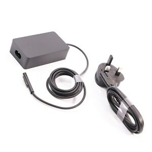 Genuine Microsoft Surface Pro 3/4/5/6/7 65W Charger Power Supply Q4Q-00010 1706